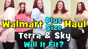 Terra Sky Jeans Size Chart Walmart Terra Sky Plus Size Fashion Haul Will It Fit
