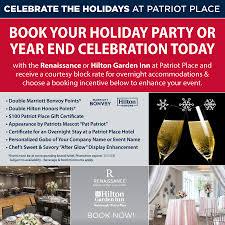 Holiday Name Renaissance Hilton Garden Inn Holiday Party Or Year End