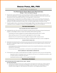 Human Resources Generalist Resume Resumes For Hr Corol Lyfeline Co Sample Entry Level Human Resources 24