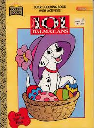 image is loading 101 dalmatians coloring book rare