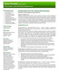 Architecture Intern Resume Sample Topshoppingnetwork Com