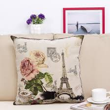 Eiffel Tower Home Decor Accessories Awesome Home Accessory Print Cute Soft Comfy Pillow Home Decor