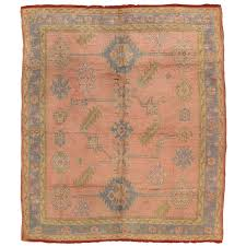 antique oushak rug turkish rugs handmade oriental rugs pink rug for