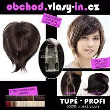 Delší Tupé Ofina Z Lidských Vlasů K Mikádům Vlasy Incz