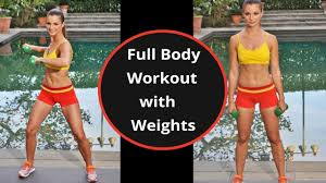15 min full body workout with weights beginners dumbbell workout