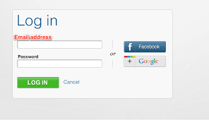 Facebook Login Sign In Login Signup To Commons Site With Google Facebook Account 1558176