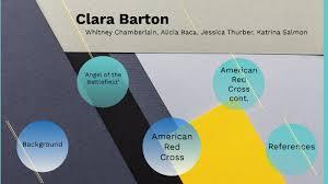Clara Barton by Whitney Chamberlain