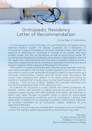 Orthopedic Surgery Personal Statement