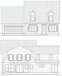 house addition plans. New Addition House Plans | Cape Cod Style Home