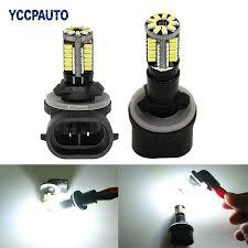 898 Fog Light Bulb Us 3 28 17 Off Yccpauto H27 Car Fog Lamp Daytime Running Lights White 881 880 H27w 2 862 886 894 896 898 57smd 3014 Led Auto Bulb 12v 2pcs In Car