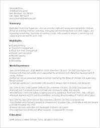 Sample Educator Resumes Childcare Resume Examples Child Care Educator Resume Sample For