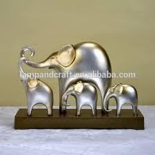 New Animals Elephant Model Aluminium Home Decor For Tabletop Hotel Aluminium Home Decor
