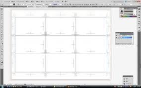 イラストレーターcs5 名刺a4サイズに8面付けの方法 イラレcs5
