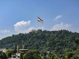 Flag Hoisting Pole Design Countrys Tallest National Flag From The Average City