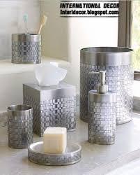 silver glitter bathroom accessories. bathroom accessories set glitter, stylish sets silver glitter