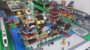 LEGO City Update - Ninjago District December 2018 - YouTube