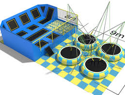 Big Air Trampoline Cheap Trampoline Park New Innovation