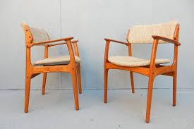 mid century modern mid century danish modern erik buch dining chair set of