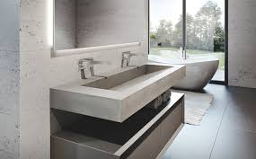 Custom Concrete Bathroom Sinks Trueform Concrete Concrete Bathroom Sink