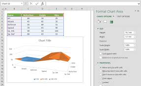 Surface Chart In Excel