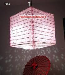 festive lantern square hollow paper shade chandelier restaurant hotel home decoration in craft from garden on spiderman light