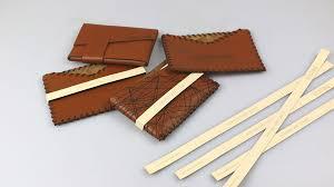 Laser Engraved Leather Business Card Holder Trotec Laser Diy Sample