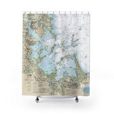 Boston Harbor Chart Boston Harbor Hingham Hull And The Islands Nautical Chart