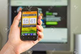 HTC One SV Features.. Stock Photo ...