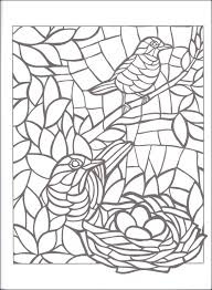 Small Picture Animal Mosaics Creative Haven Coloring Book 060846 Details