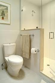 bathroom half wall interior creative bathrooms with half walls intended for half wall shower decorating bathroom