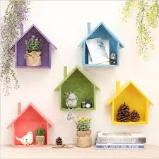creative retro wooden wall shelves living room bedroom diy hanging decoration simple home accessories creative simple n32 creative