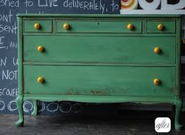 painted green furniture. Green And Yellow Painted Dresser Furniture
