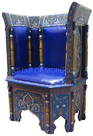 blue leather chair. Royal Blue Leather Chair