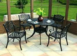 patio small patio tables attractive outdoor table set dining sets furniture round with umbrella hole