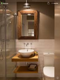rustic bathroom lighting. Rustic Bathroom Lights. Lighting Ideas Beautiful Half White Tiles With Contrast Brown Wall