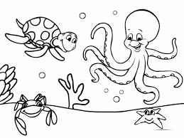 Small Picture Underwater Themed Coloring Pages High Quality Coloring Pages