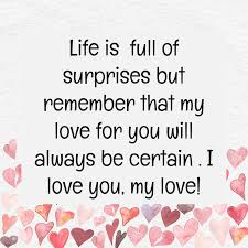 Husband Wife Love Quotes Interesting 48 Love Quotes For Husband Text And Image Quotes