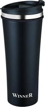 <b>Термокружка Winner</b> Black Classic, цвет: черный, 0,42 л. <b>WR</b>-<b>8204</b> ...