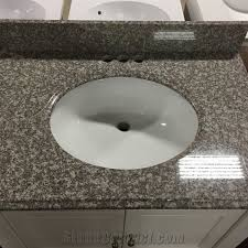 g664 granite countertop bainbrook brown granite tile kitchen countertop bath vanity misty brown granite china popular red granite tops