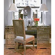 hollywood regency mirrored furniture. Gidget Hollywood Regency Silver Mirrored Desk Furniture N
