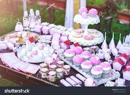 Dessert Table Kids Birthday Party Cake Stock Photo Edit Now