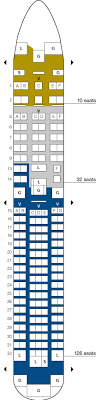 United 767 Seating Chart United Airlines Aircraft Seatmaps Airline Seating Maps And