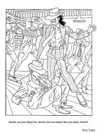 Michael Jackson Coloring Pages Free Printable Enjoy Coloring Mj