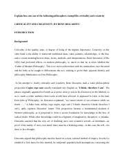 js mill essay on individuality to what extent does j s mill 6 pages renes descartes