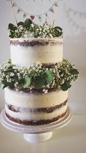 2 Tier 3 Layer Wedding Cake