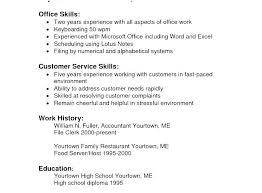 Sample Resume Leadership Skills Example Of A Strong Resume Strong