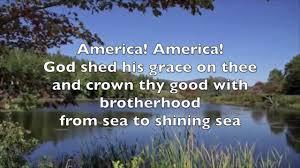 America The Beautiful with Lyrics