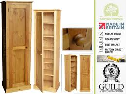 Contemporary 1 Door Slim Kitchen Pantry Hallway Storage Cupboard