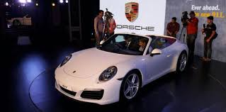 new car launches price in indiaPorsche launched 2017 911 range models in India