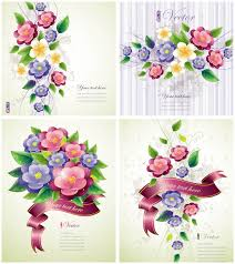Spring Photo Cards Spring Flower Cards Vector Vector Graphics Blog